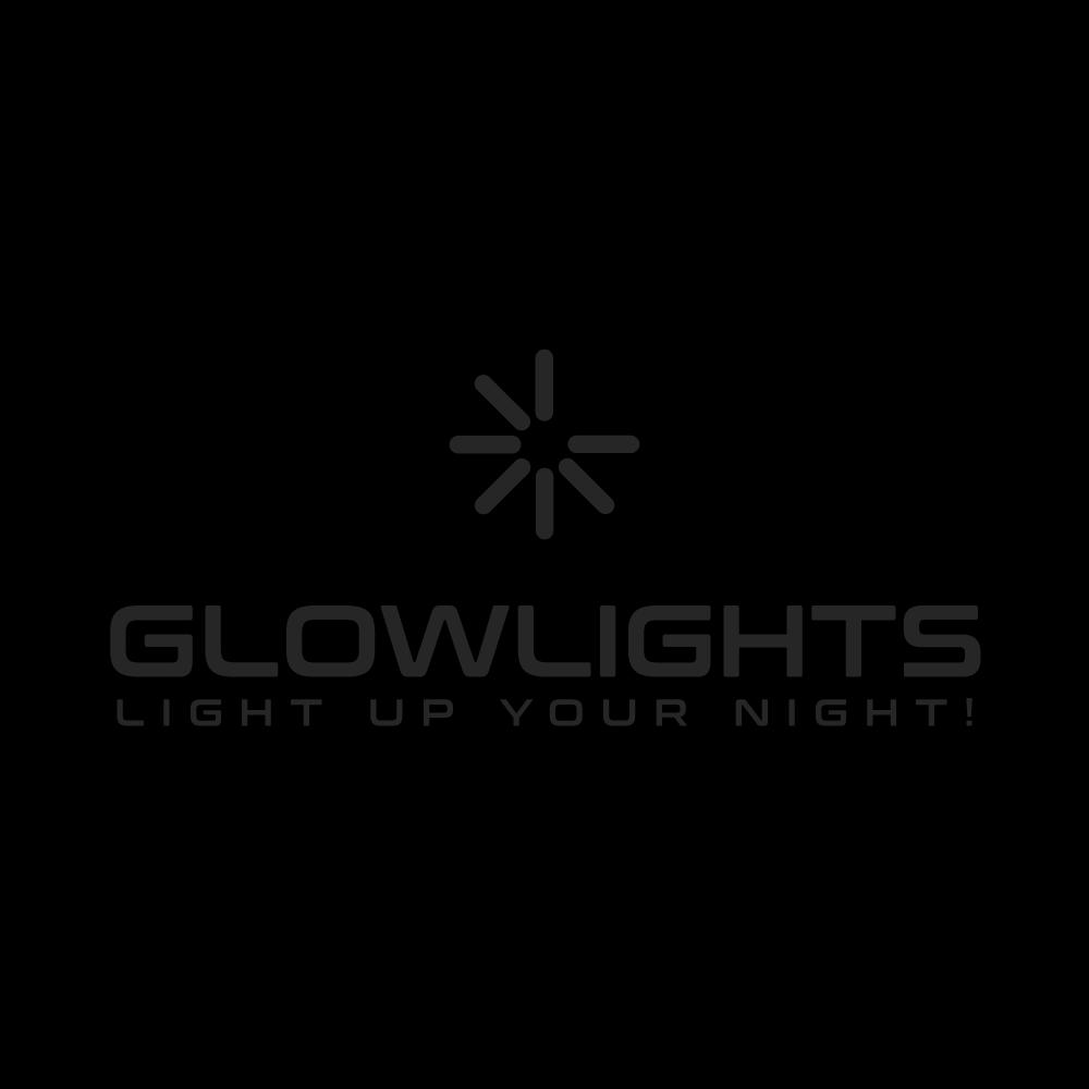 Glow Hoop Earring Connectors - Clip On - Metal Clasp