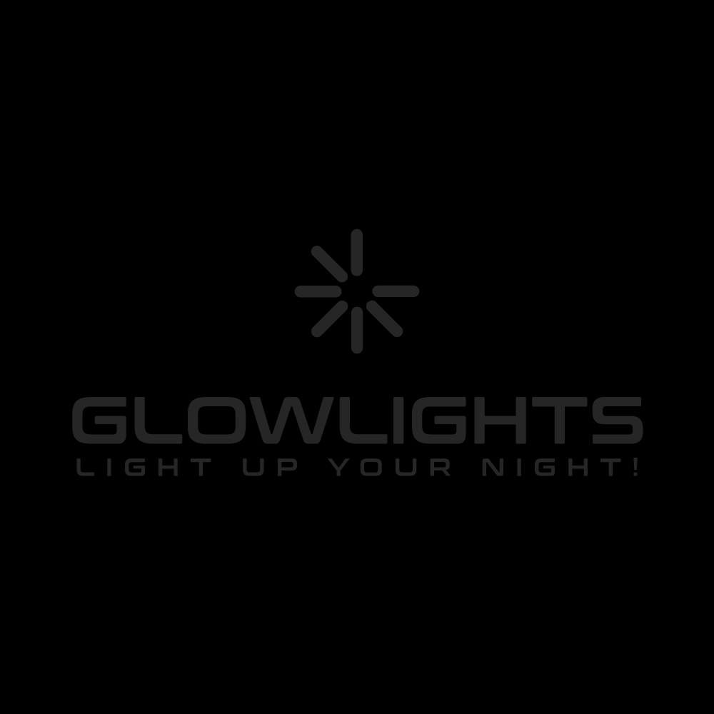 6'' Imprinted Glow Light Sticks - Aqua